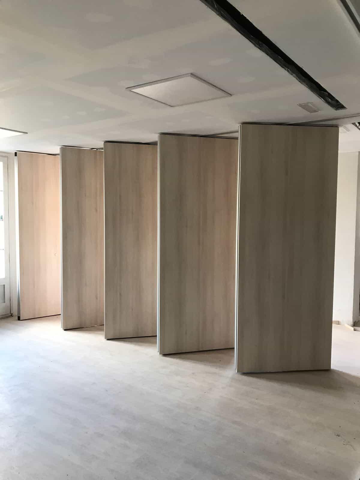 Tabiques m viles para espacios flexibles o adaptables kubointer - Tabiques moviles vivienda ...